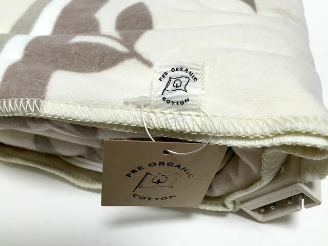 電気毛布 毛布