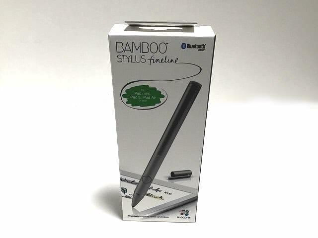 iPadで wacom Bamboo Stylus fineline を試してみた