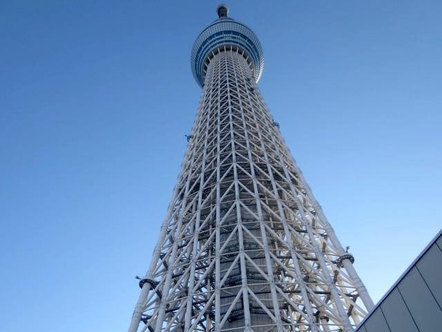 東京都 墨田区 東京スカイツリーに行ってみたら 高さにビビった