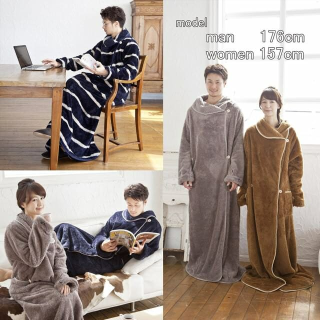 今年の冬は「着る毛布」でエアコンもヒーターも使わずに乗り越えられそう