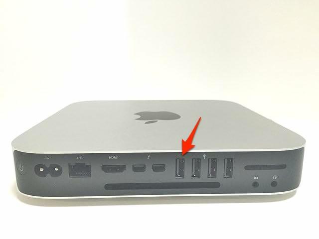 2Mac mini USB3 0黒色