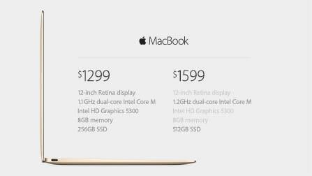 MacBook価格