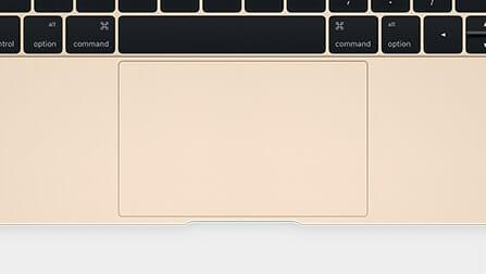 MacBookトラックパッド