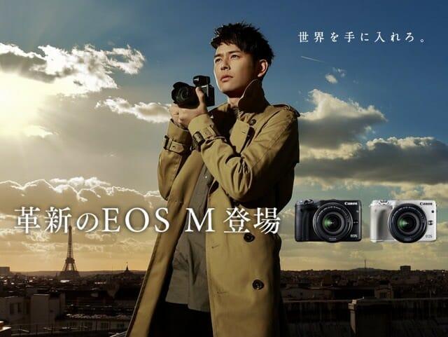 ミラーレスカメラ Canon EOS M3 ボディEVFキット 箱から出してみた