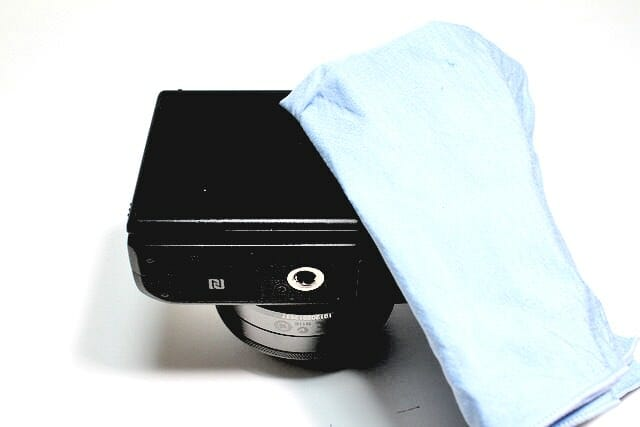 EOS M3 液晶磨き