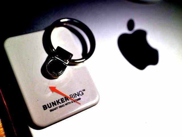 BUNKER RING 初期ヒビ