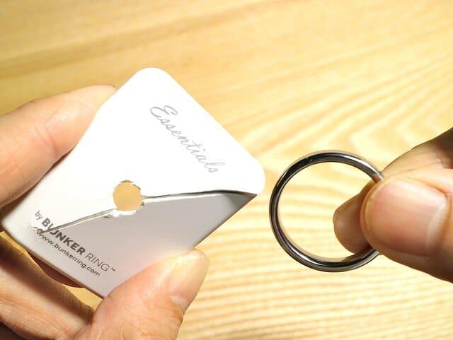 BUNKER RING のリングが取れた! iPhone落とさなくて良かった