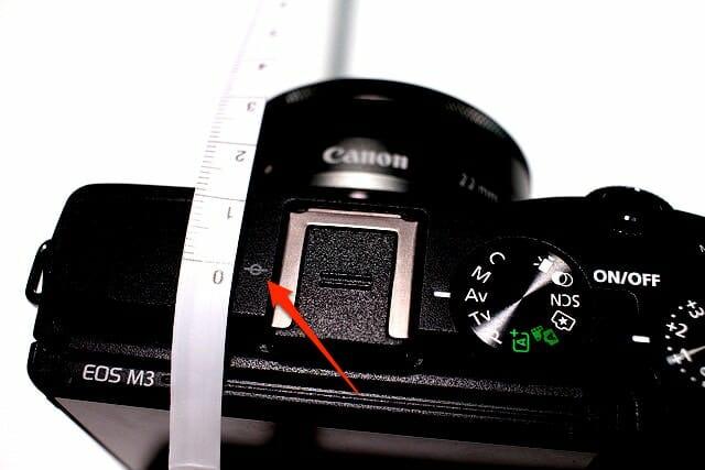 カメラ距離基準