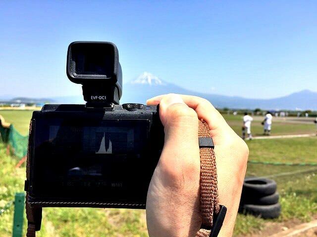EOS M3 野外撮影をしてみてEVFファインダーの素晴らしさを実感