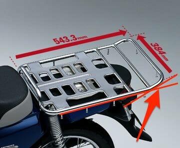 スーパーカブ110プロ EBJ JA10 リアキャリア