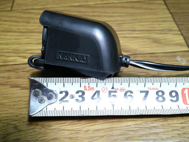 バイク電源USBシガーソケット奥行サイズ