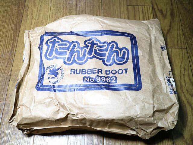バイク雨対策ショート長靴たんたんブーツパッケージ