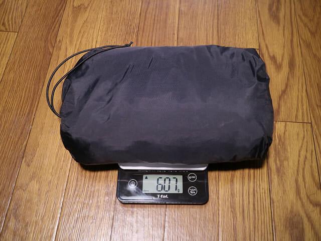 バイク雨対策コンパクトレインスーツ重量