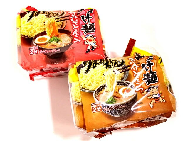 うまかっちゃんつけ麺5袋パッケージ
