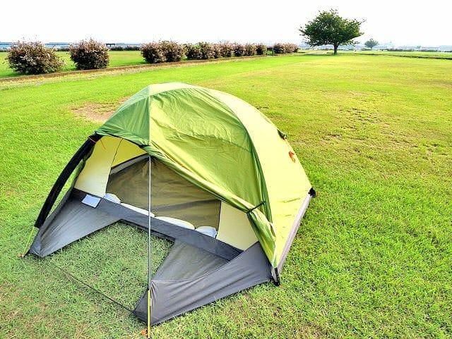 バイクでソロキャンプするには、どのテント買えばいいのか?4