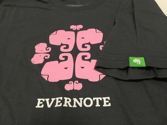 ゾウさんがかわいいEVERNTOEのTシャツ