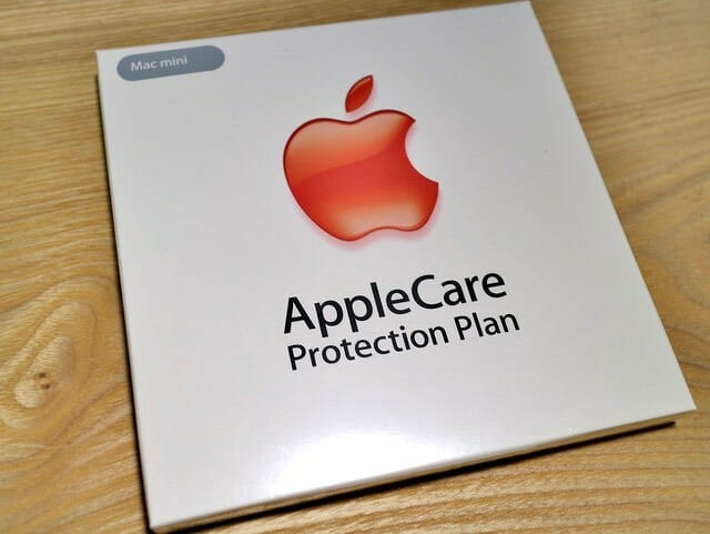 MacはiPhoneと違いAppleCareの猶予期間が1年ある