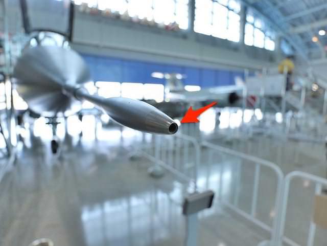 航空自衛隊浜松基地エアーパークF1戦闘機先端