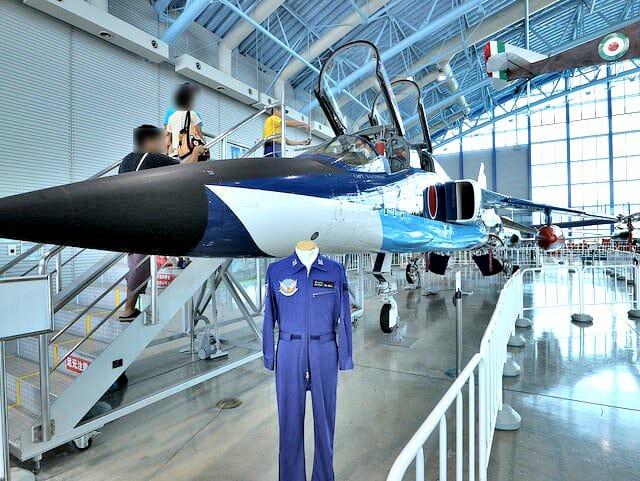 航空自衛隊浜松基地エアーパークT2ブルーインパルス