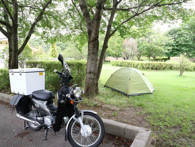 バイクでソロキャンプするには、どのテント買えばいいのか?2