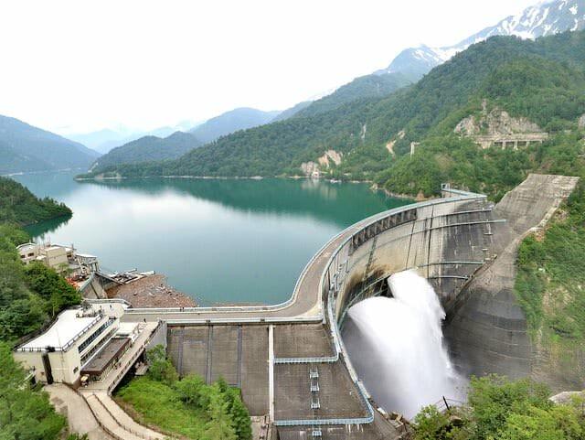 長野ルートから黒部ダムを目指した1