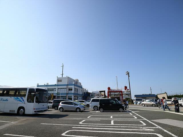 千葉県富津市金谷港ターミナル