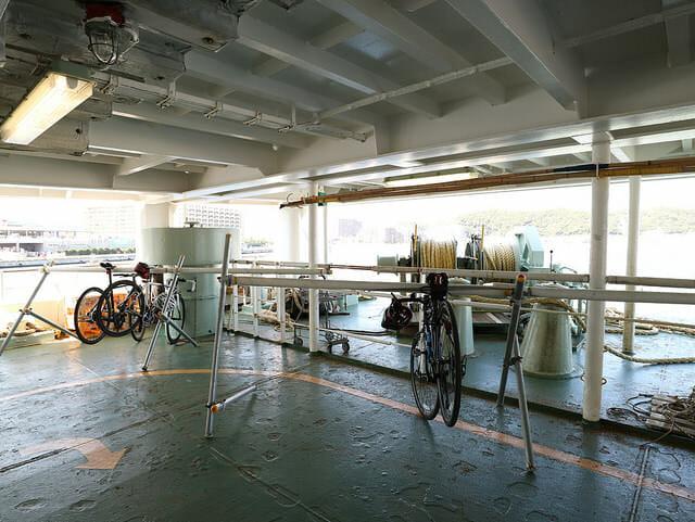 東京湾フェリーかなや丸下部駐輪場