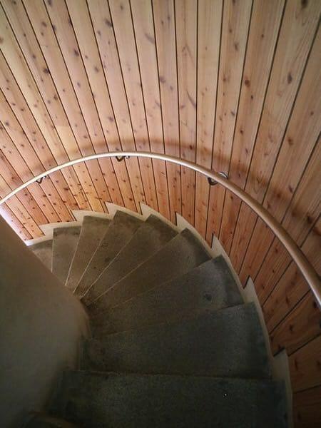 千葉県銚子市犬吠埼灯台階段