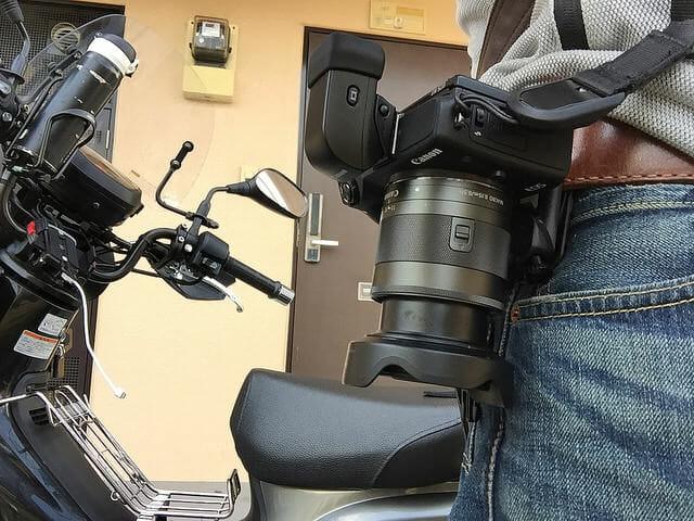 ツーリング時カメラ固定方法