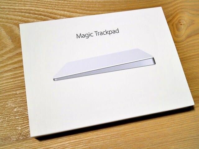 とても美しく進化したMagic Trackpad 2の開封の儀
