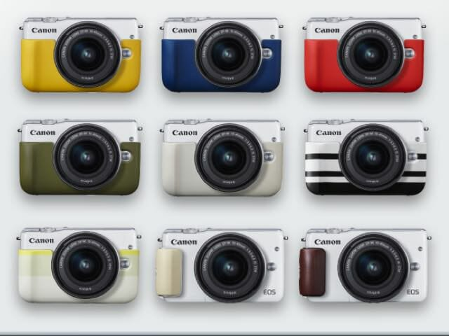 Canonミラーレスカメラが3種類のM2, M3, M10になり違いが分からない2