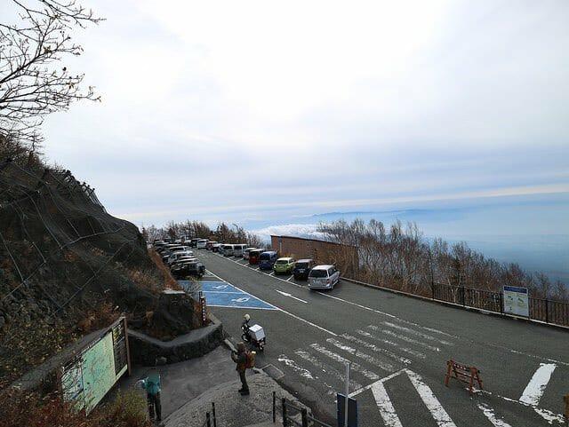富士山2400m眺望