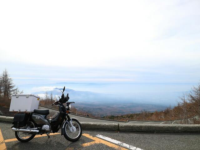 富士山5合目眺望