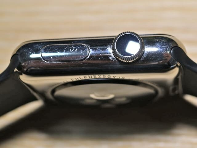 AppleWatch半年デジタルクラウン