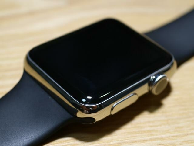 AppleWatch半年ディスプレイ