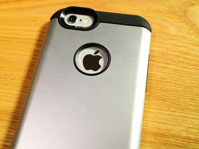 IPhone6タフ保護ケース本体背面