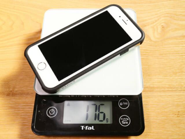 IPhone6タフ保護ケース本体重量