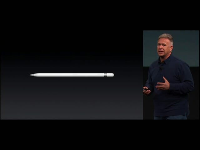 AppleSpecialEvent20160321iPadPro9 7インチApplePencil