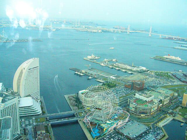 横浜ランドマークタワー2008年眺望1