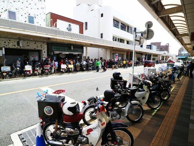 2016富士カブミーティング全景