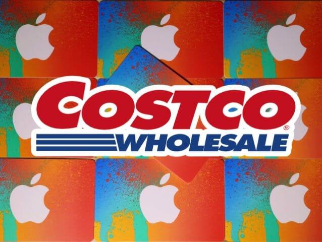 コストコはiTunesカードも販売している