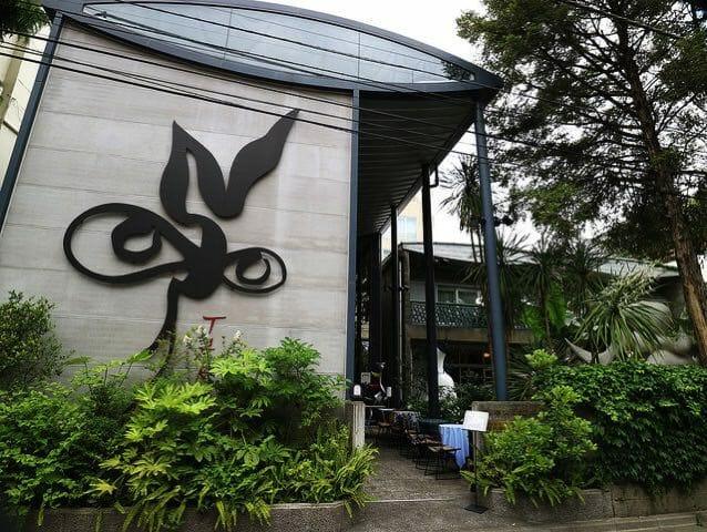 岡本太郎記念館建物全景