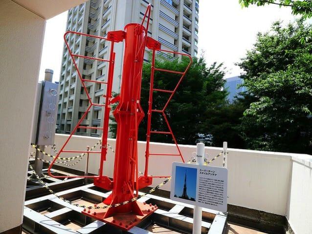 NHK放送博物館東京タワーアンテナ