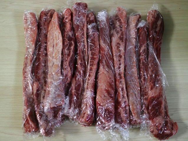 コストコ牛肉ビーフリブフィンガー保存