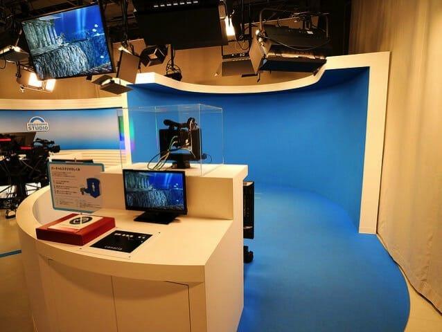 NHK放送博物館お天気スタジオ