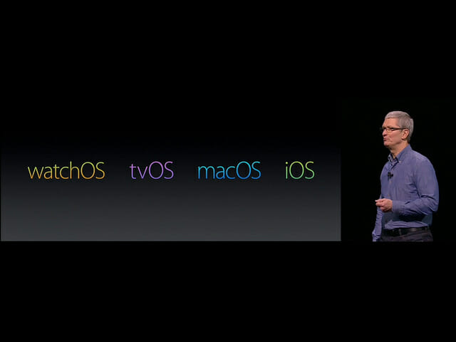 WWDC14 4つのOS