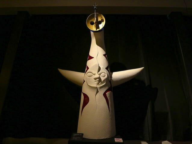 岡本太郎記念館2階右展示室太陽の塔