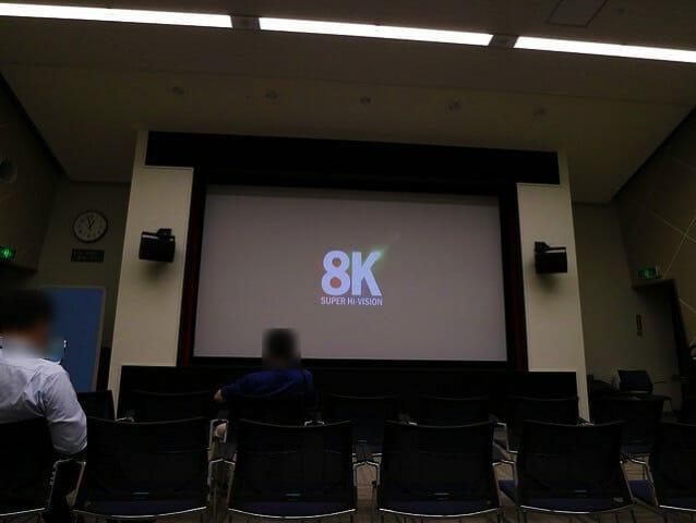 NHK放送博物館8K映像