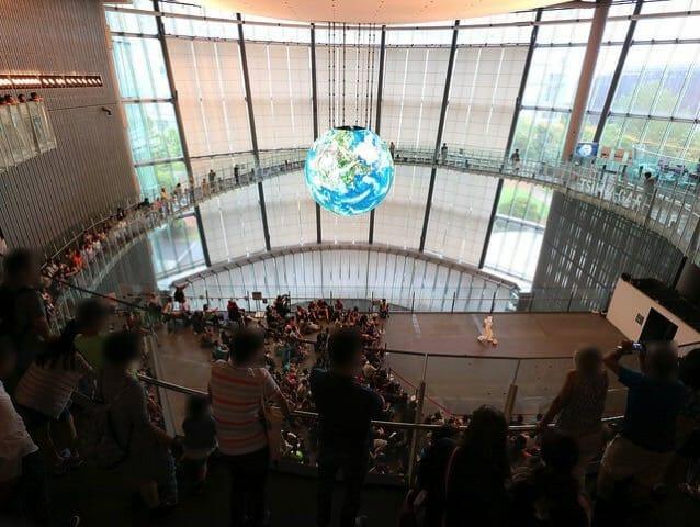 日本科学未来館の無料開放日だったので行ってみた