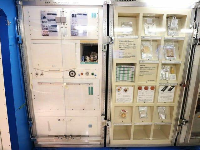 日本科学未来館 5階国際宇宙ステーションキッチン